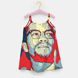 Thumbnail image of Malcolm X Artwork Girl's dress, Live Heroes