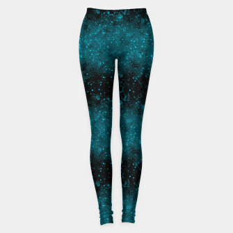 blue sequins, sequins, glitter Leggings thumbnail image