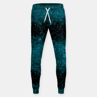 blue sequins, sequins, glitter Sweatpants thumbnail image