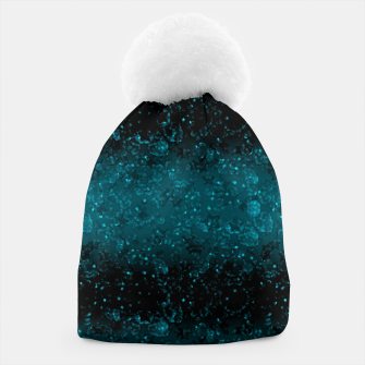 Thumbnail image of blue sequins, sequins, glitter Beanie, Live Heroes