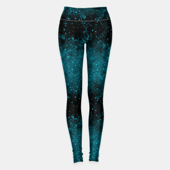 Thumbnail image of blue sequins, sequins, glitter Leggings, Live Heroes
