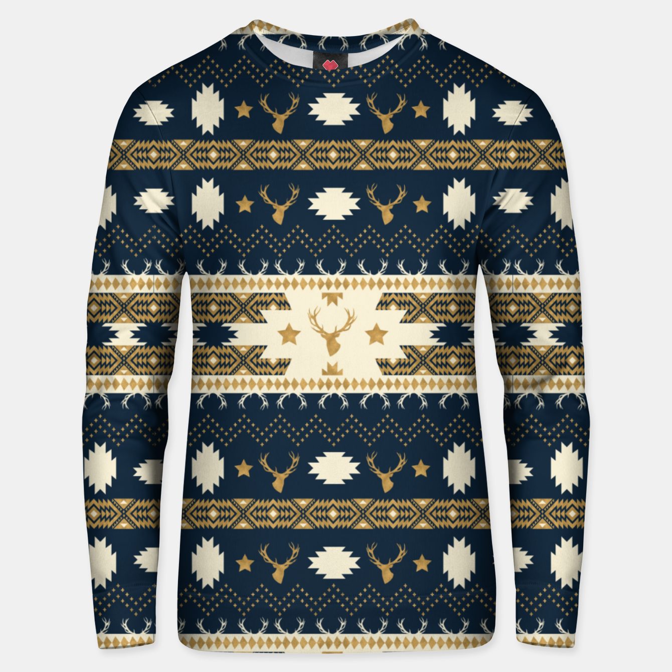 Image of Tribal Bohemian Winter Sudadera unisex - Live Heroes