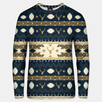 Tribal Bohemian Winter Sudadera unisex miniature