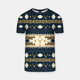 Tribal Bohemian Winter Camiseta thumbnail image