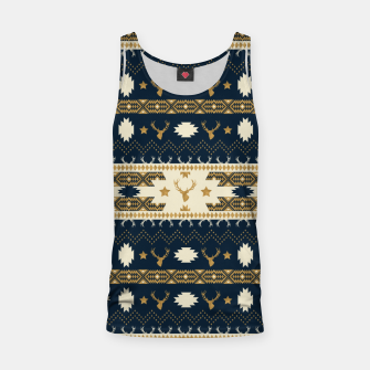 Tribal Bohemian Winter Camiseta de tirantes miniature