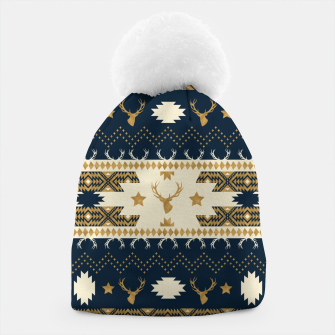 Tribal Bohemian Winter Gorro miniature