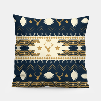 Tribal Bohemian Winter Almohada miniature