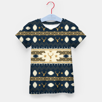 Thumbnail image of Tribal Bohemian Winter Camiseta para niños, Live Heroes