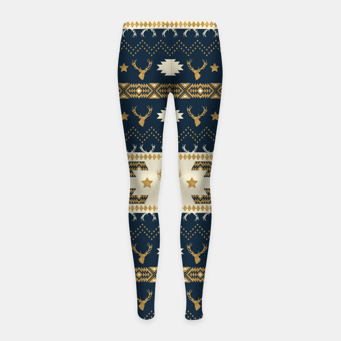 Image of Tribal Bohemian Winter Leggings para niña - Live Heroes