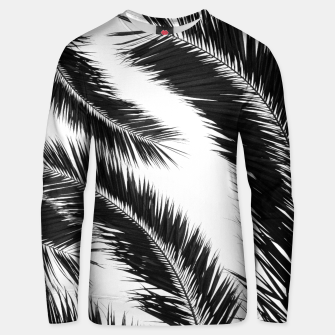 Miniatur Bohemian Palms Jungle Pattern #1 #tropical #decor #art Unisex sweatshirt, Live Heroes