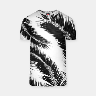 Miniatur Bohemian Palms Jungle Pattern #1 #tropical #decor #art T-Shirt, Live Heroes