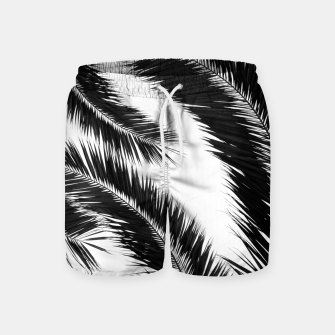 Miniatur Bohemian Palms Jungle Pattern #1 #tropical #decor #art Badeshorts, Live Heroes