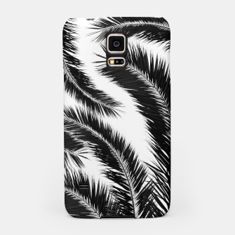 Miniatur Bohemian Palms Jungle Pattern #1 #tropical #decor #art Handyhülle für Samsung, Live Heroes