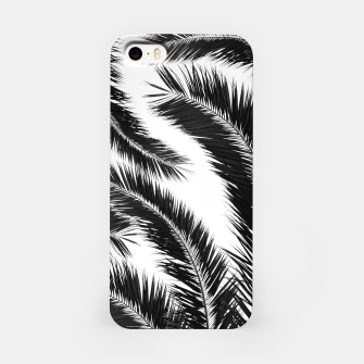 Miniatur Bohemian Palms Jungle Pattern #1 #tropical #decor #art iPhone-Hülle, Live Heroes