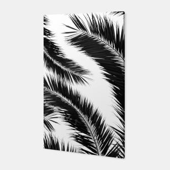 Miniatur Bohemian Palms Jungle Pattern #1 #tropical #decor #art Canvas, Live Heroes