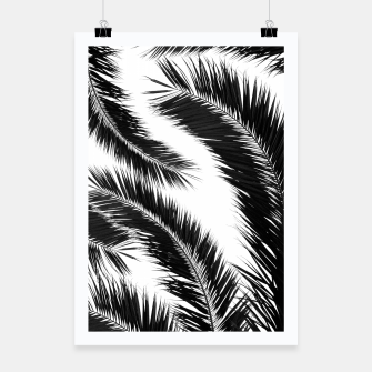 Miniatur Bohemian Palms Jungle Pattern #1 #tropical #decor #art Plakat, Live Heroes
