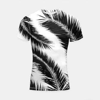 Miniatur Bohemian Palms Jungle Pattern #1 #tropical #decor #art Shortsleeve rashguard, Live Heroes