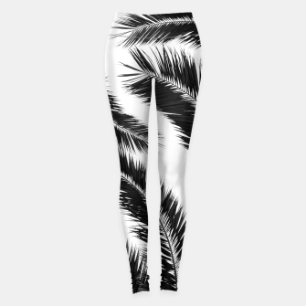 Miniatur Bohemian Palms Jungle Pattern #1 #tropical #decor #art Leggings, Live Heroes