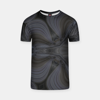 Thumbnail image of Black abstract 2 T-shirt, Live Heroes
