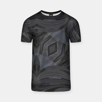 Thumbnail image of Black Abstract 3  T-shirt, Live Heroes