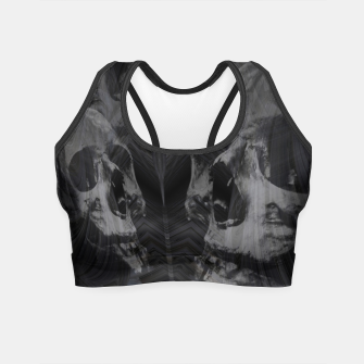 Thumbnail image of Skull & Ghost 2 Crop Top, Live Heroes
