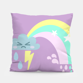 Thumbnail image of Thundercloud the Tempest Pillow, Live Heroes