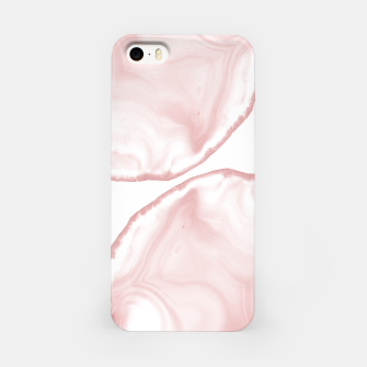 Imagen en miniatura de Blush Agate Pastel Glam #1 #gem #decor #art iPhone-Hülle, Live Heroes