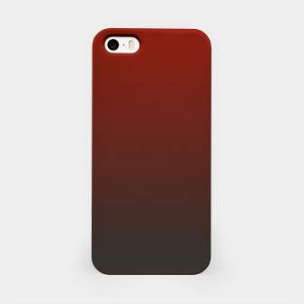 Imagen en miniatura de Dark Red Black Gradient iPhone Case, Live Heroes