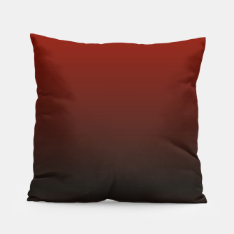 Thumbnail image of Dark Red Black Gradient Pillow, Live Heroes