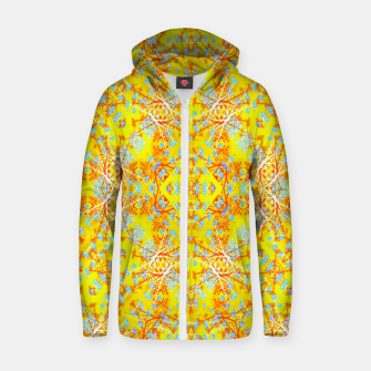 Miniaturka Vivid Warm Ornate Pattern Zip up hoodie, Live Heroes