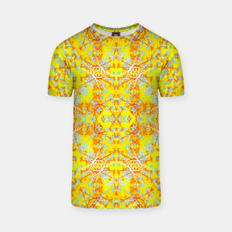 Thumbnail image of Vivid Warm Ornate Pattern T-shirt, Live Heroes