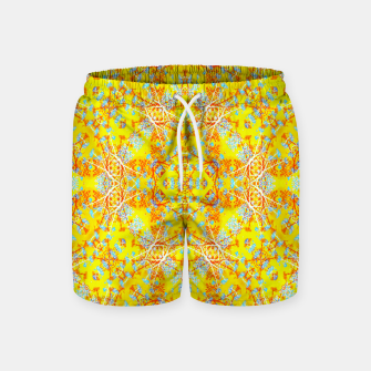 Miniaturka Vivid Warm Ornate Pattern Swim Shorts, Live Heroes
