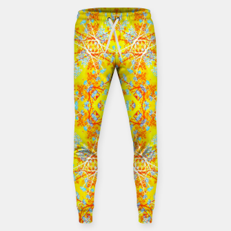 Miniaturka Vivid Warm Ornate Pattern Sweatpants, Live Heroes