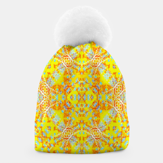 Thumbnail image of Vivid Warm Ornate Pattern Beanie, Live Heroes
