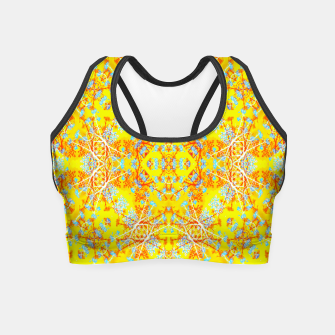 Miniaturka Vivid Warm Ornate Pattern Crop Top, Live Heroes