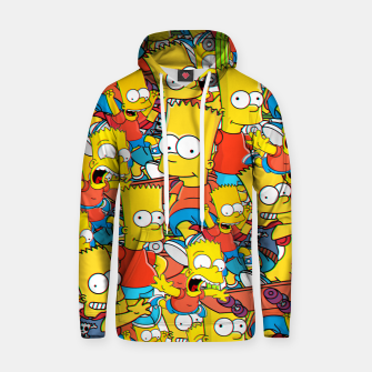 Thumbnail image of Bart Club Hoodie, Live Heroes