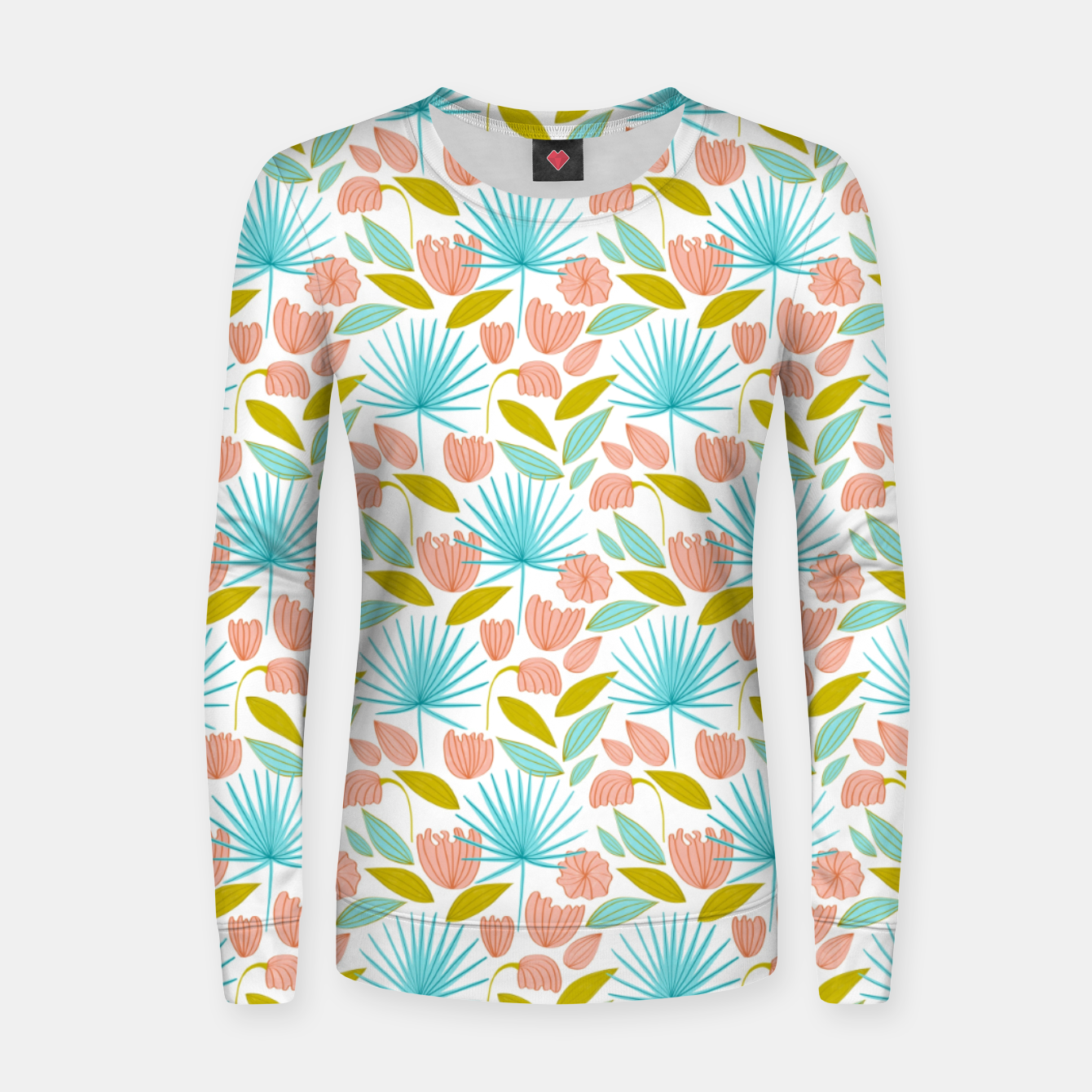 Image of Divine Floral Women sweater - Live Heroes