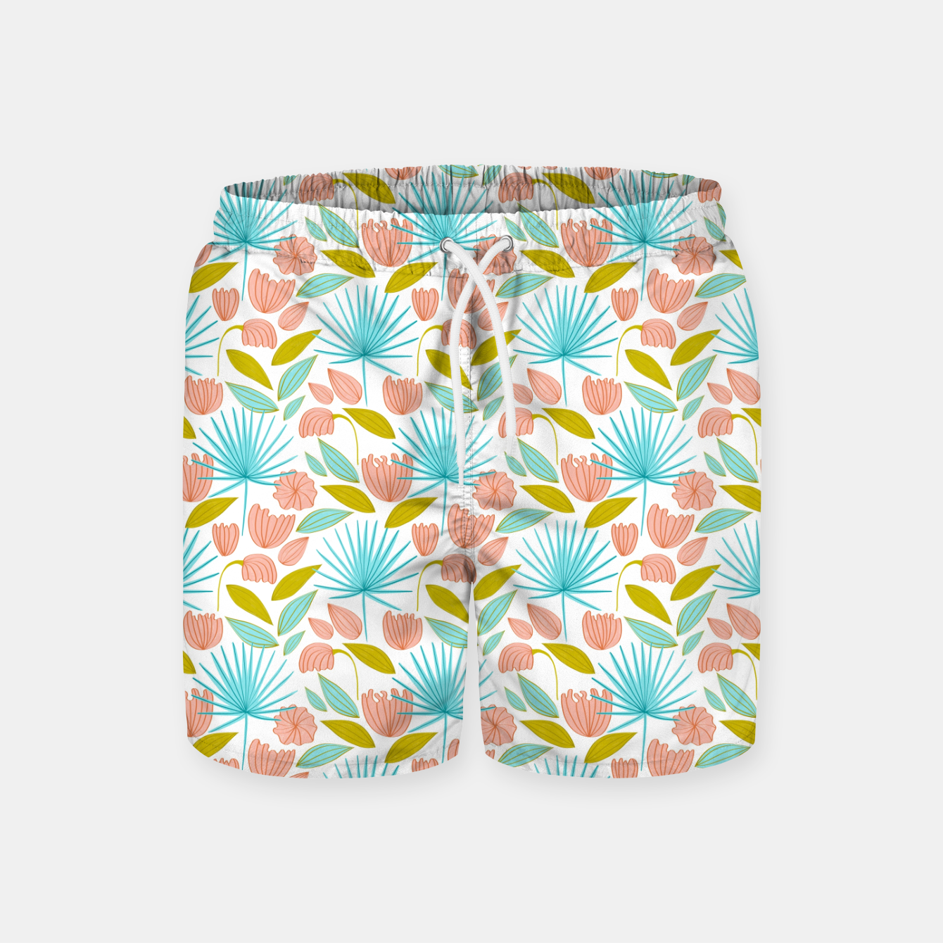 Image of Divine Floral Swim Shorts - Live Heroes