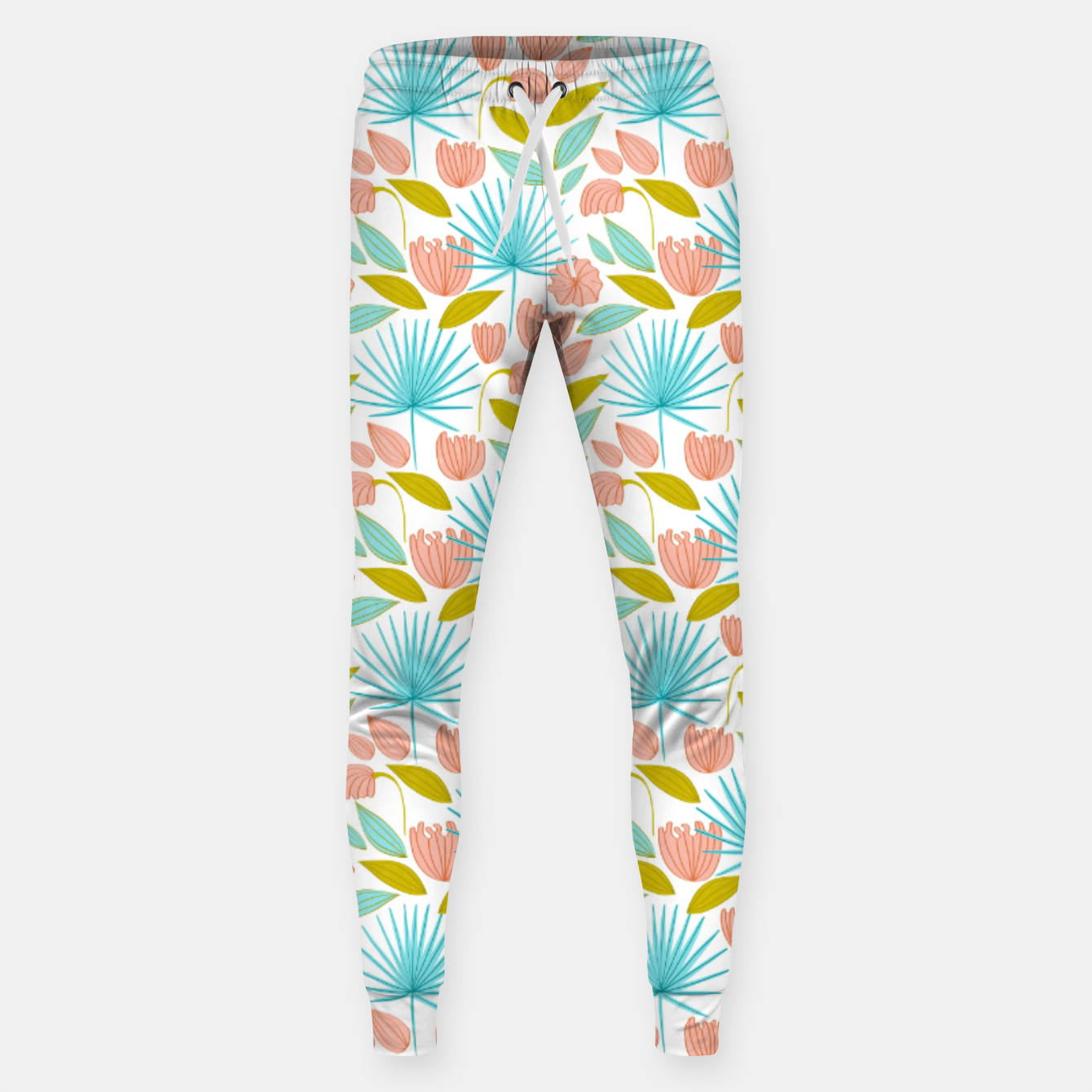 Image of Divine Floral Sweatpants - Live Heroes