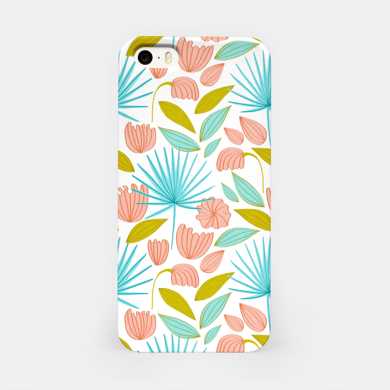 Image of Divine Floral iPhone Case - Live Heroes