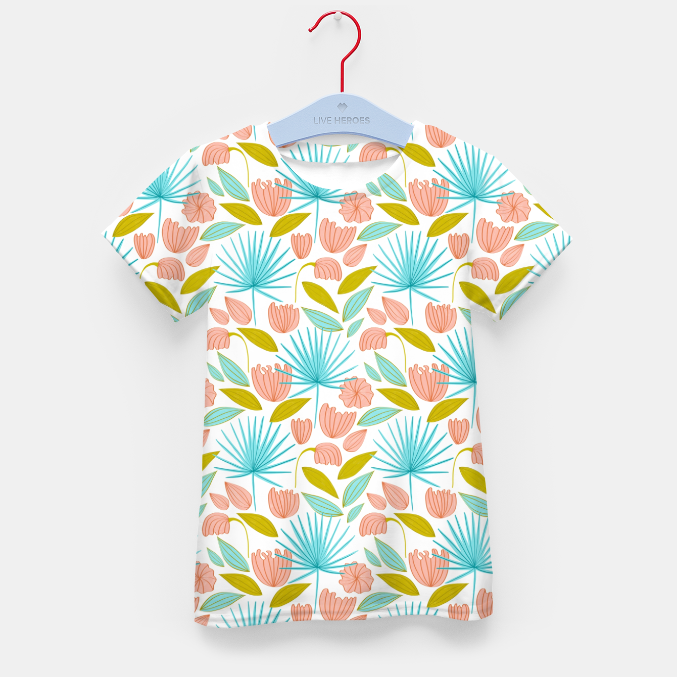 Image of Divine Floral Kid's t-shirt - Live Heroes