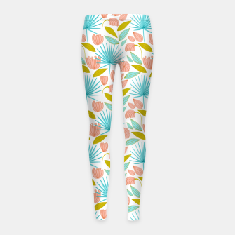 Divine Floral Girl's leggings thumbnail image