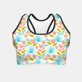 Thumbnail image of Divine Floral Crop Top, Live Heroes
