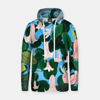 Thumbnail image of Mood Flowers Hoodie, Live Heroes