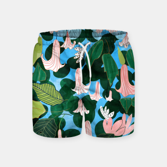 Thumbnail image of Mood Flowers Swim Shorts, Live Heroes