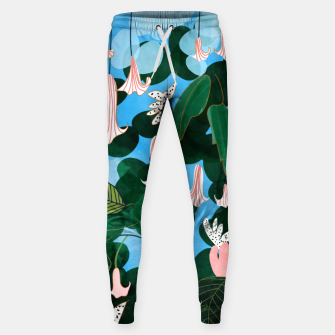 Thumbnail image of Mood Flowers Sweatpants, Live Heroes