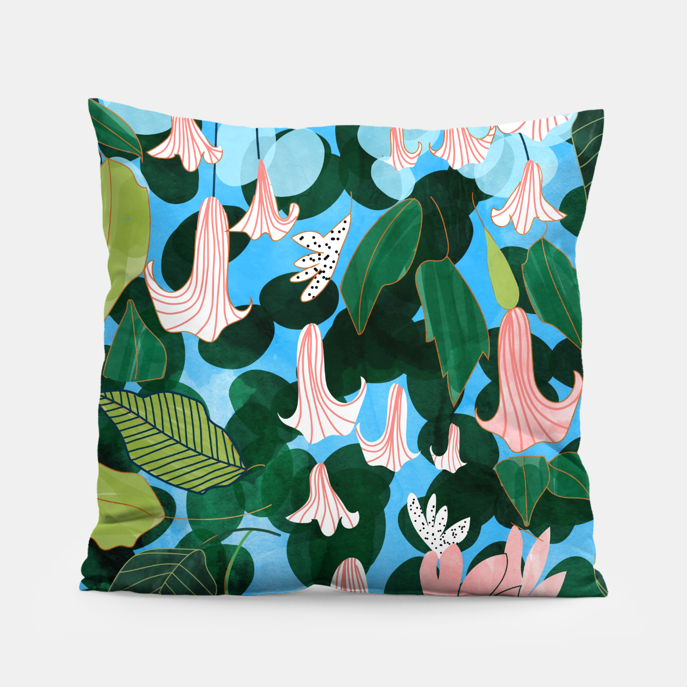 Image of Mood Flowers Pillow - Live Heroes