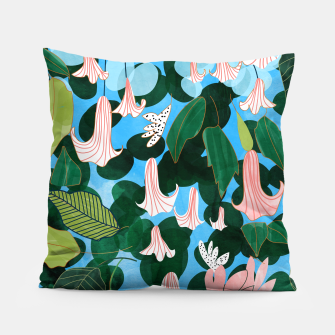 Thumbnail image of Mood Flowers Pillow, Live Heroes