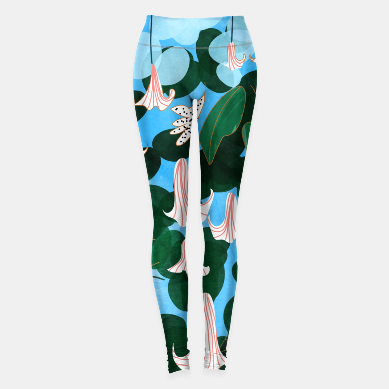 Image of Mood Flowers Leggings - Live Heroes