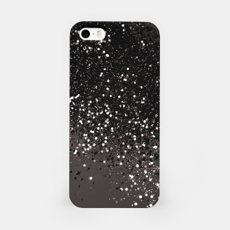 Imagen en miniatura de Blush Gray Black Lady Glitter #2 #shiny #decor #art iPhone-Hülle, Live Heroes